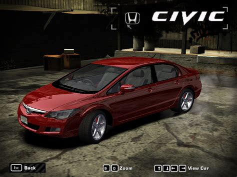 Need For Speed Most Wanted Cars By Honda Nfscars