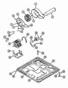 Motor Drive Diagram  U0026 Parts List For Model Mdg7400aww Maytag