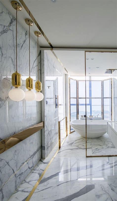 sophisticated ideas for a modern marble bathroom design