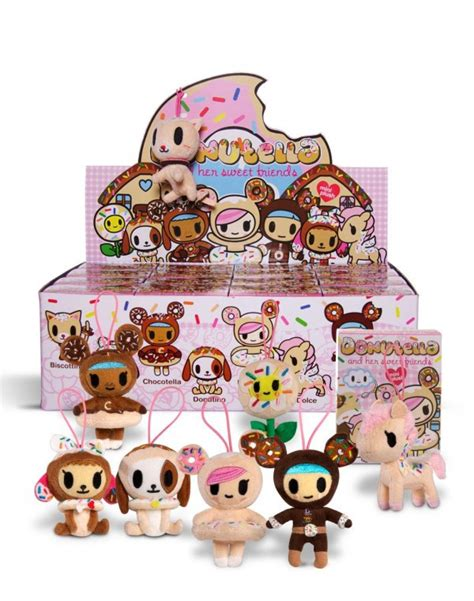 blind boxes and bags tokidoki donutella and sweet friends mini plush