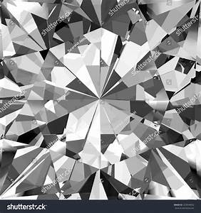 Realistic Diamond Texture Close Up 3d Stock Illustration ...