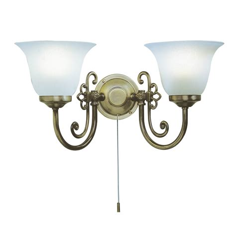 or light antique wall light scroll detail