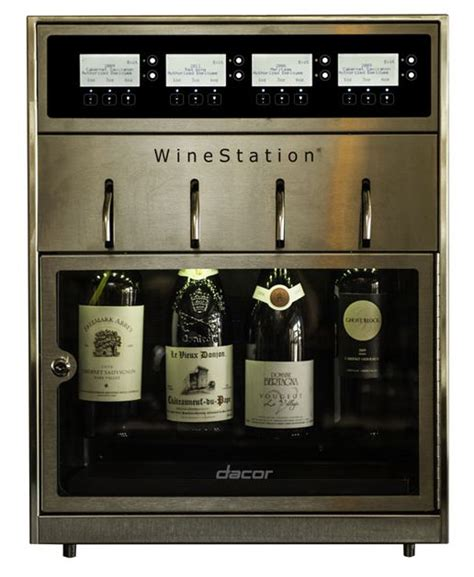 dacor wine dispenser never open the wrong bottle of wine with the dacor 3077