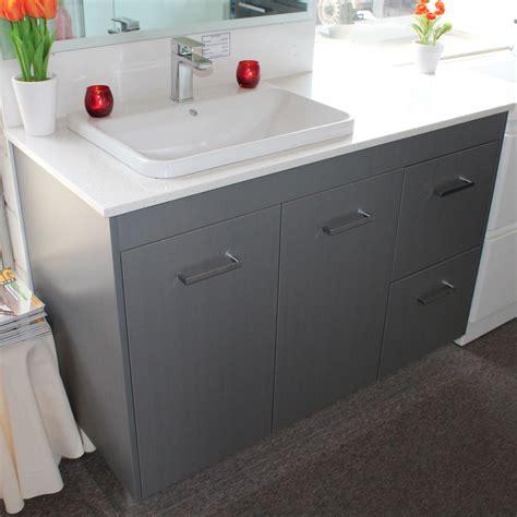 custom vanity unit mm  caesarstone top bathroom
