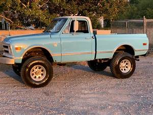 1968 Chevy C10 Short Bed 4x4 1 Ton Twin Turbo Diesel For