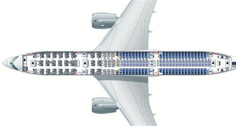 Premium Economy Lufthansa A340 600 Seat Map