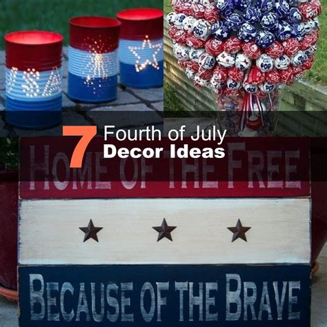 4th of july themes 7 fourth of july decor ideas 2016