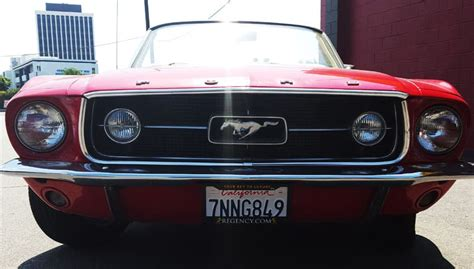 Rent a 1967 Ford Mustang Convertible   Regency Car Rentals