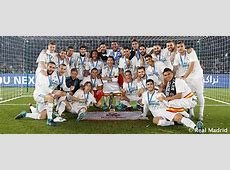 Fifth title in 2017 Real Madrid CF