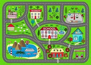 Tapis Enfant Route : tapis de jeu de route pour des enfants activit et ~ Teatrodelosmanantiales.com Idées de Décoration