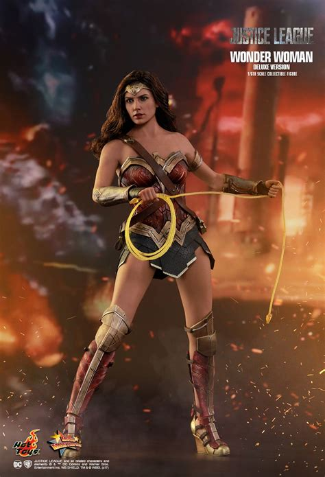 Hot Toys Justice League Wonder Woman Deluxe Version Mms451