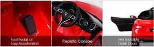 2020 Costzon Ride On Car  Licensed Maserati Gbili 12v