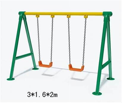 Swing Swings Playground Clipart Equipment Clip Slide