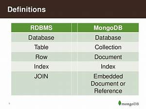 migrating from relational databases to mongodb With embedded documents mongodb