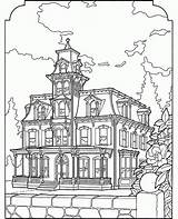 Coloring Pages Victorian Adult Houses Colouring Farm Drawing Printable Easy Books Az Adults Sheets Homes Christmas Draw Landscape Azcoloring Popular sketch template