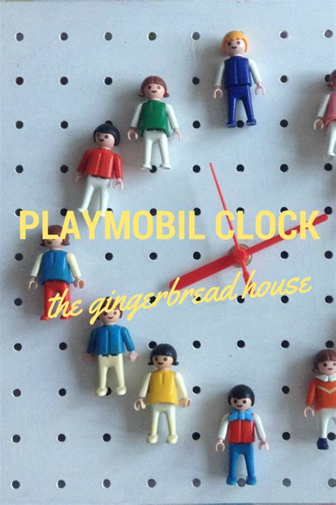 pinned    playmobil clock