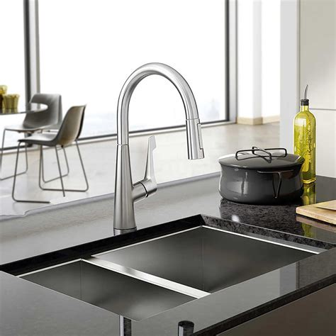 modern kitchen faucets stainless steel modern kitchen faucets stainless steel gallery of