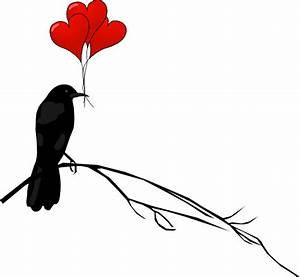 Raven With Balloons Clip Art at Clker.com - vector clip ...