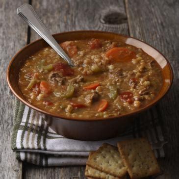 hamburger lentil soup alberta pulse growers
