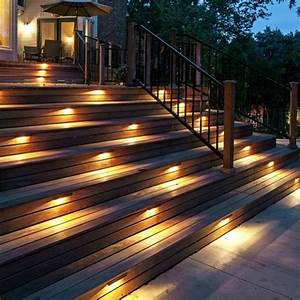 17 best images about exterior stair lighting on pinterest With outdoor deck lighting 120v