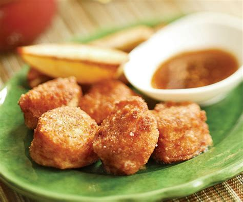fried scallops pan fried scallops with malt vinegar dipping sauce recipe finecooking