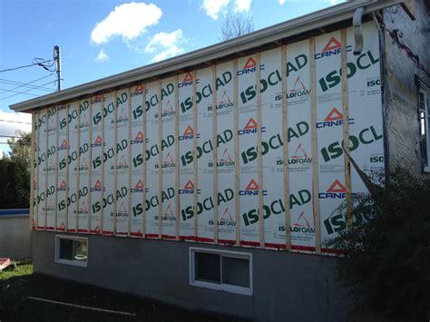 isolation mur ext 233 rieur construction p moisan