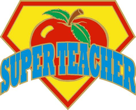 "1"" Super Teacher  Dph Custom Pins"