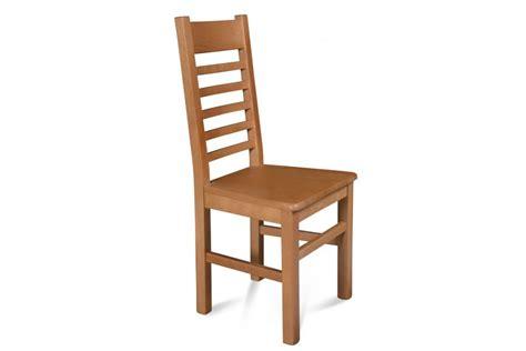 chaise bois massif boston assise bois finition chene