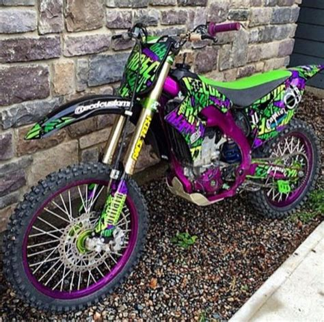 purple motocross love this want sooo much dirt bikes pinterest bikes