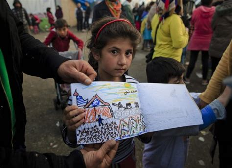 Boat Journey Drawing by The Syrian Refugee Crisis Told Through The Of An 8