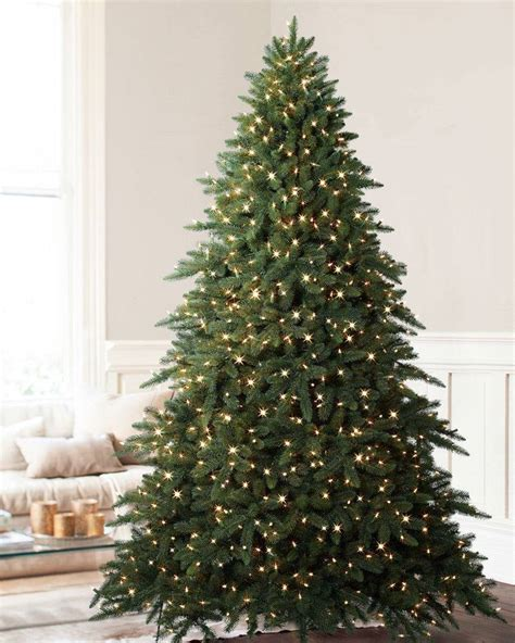 aspen fir artificial christmas tree balsam hill s best christmas trees for large spaces 7150