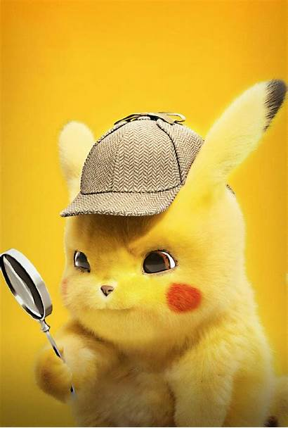 Pikachu Detective Pokemon Wallpapers Background Resolution 4k
