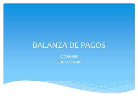 balanza template powerpoint diapositivas balanza de pagos authorstream