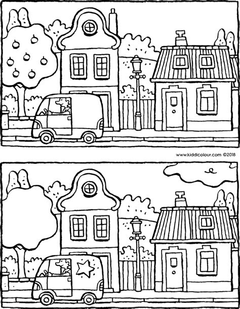 Kleurplaat De Natuur by Natuur Colouring Pages Kiddikleurprenten