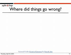 Where did things go wrong?