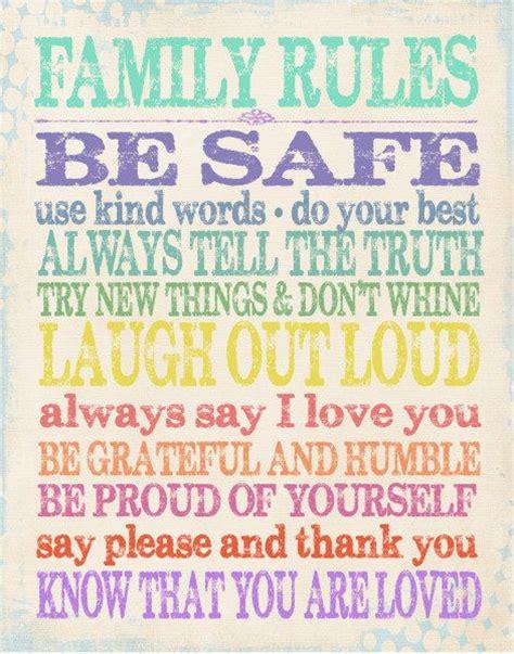 25 best family ideas on catholic bible 717 | 033f860d518eafbd0e7c1485d89bea25 family rules sign family motto