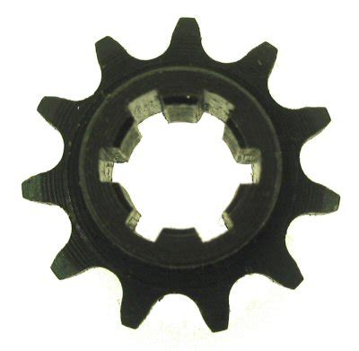 Electric Motor Sprocket by Neoscooters 11 Tooth Electric Motor Sprocket Wheels And
