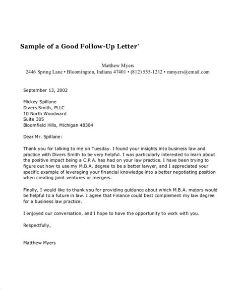 follow up letter 58 sle business letters doc pdf free premium 60812