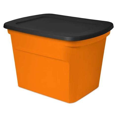 Orange Storage Bin Listitdallas