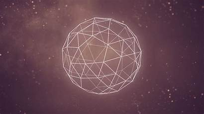 Geometric Geometry Background Wallpapers Space Abstract Desktop