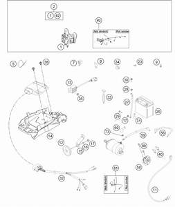 Husqvarna Fiche Finder Wiring Harness Spare Parts For The