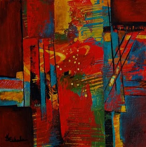 points of view abstract contemporary modern painting original painting by artist nancy