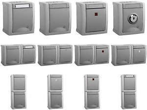 wechselschalter mit steckdose anschließen steckdose schalter wechselschalter serienschalter doppelsteckdose taster mit led ebay