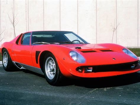 1970 Lamborghini Miura Jota Pictures Specifications And