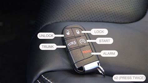 keyless entry feature  chrysler jeep dodge ram key