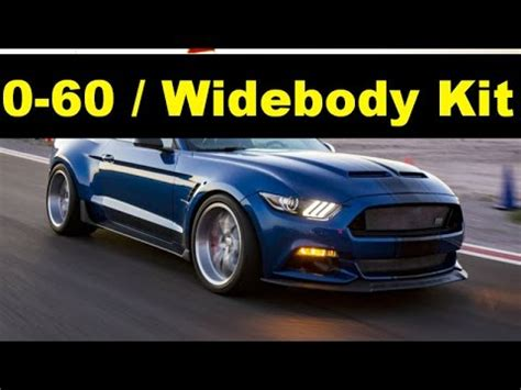 ford mustang shelby super snake widebody kit concept