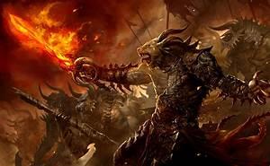 Guild, Wars, Fantasy, Creatures, Monsters, Demons, Weapons, Sword