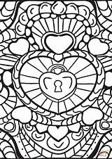 Coloring Abstract Patterns Heart Printable Hearts Adults Colouring Colorama Geeksvgs Getcolorings Colorings Getdrawings Mandala Awesome Crafts Arts Paper Supercoloring Categories sketch template