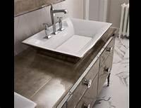 high end bathroom vanities Milldue Majestic 22 Gold Aligator Glass High End Italian ...