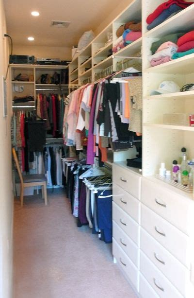 Small Narrow Closet Organization Ideas by And Narrow But Still User Friendly